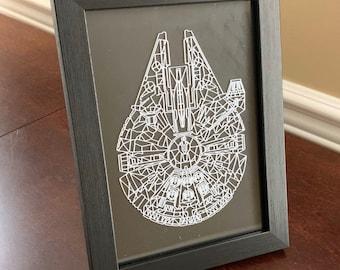 Star Wars Artwork - Millennium Falcon