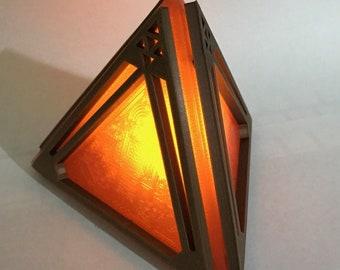Replica Star Wars Sith Holocron / Dark Holocron 3D Printed. LIGHTS UP!!