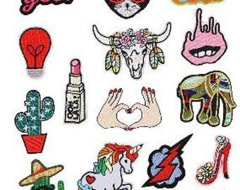 8f3c6894488f Jeans sticker iron | Etsy