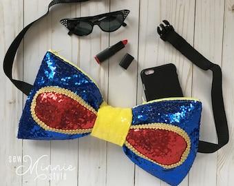 Bow Belt Bag - Snow White Inspired