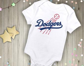 a7c8e96005e Los Angeles Dodgers Baby Bodysuit, infant baby