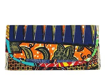 African Print Purse