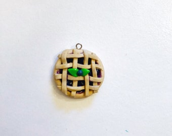 Blueberry Pie Charm