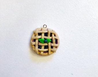 Blueberry Pie Charm