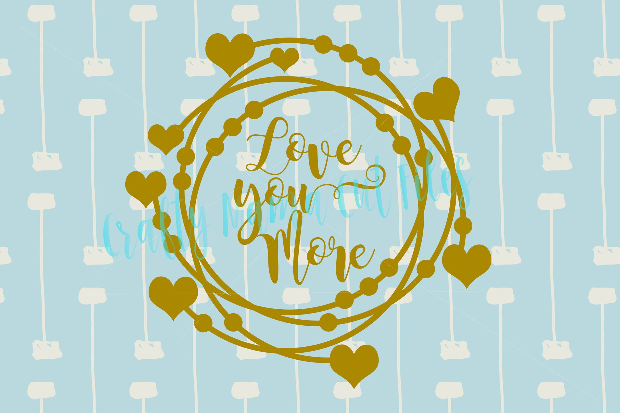 Magnificent Love You More Wall Art Mold - The Wall Art Decorations ...