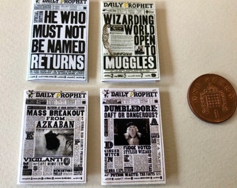 The Daily Prophet Etsy