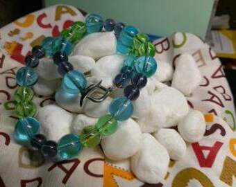 Glass beads in multi colors