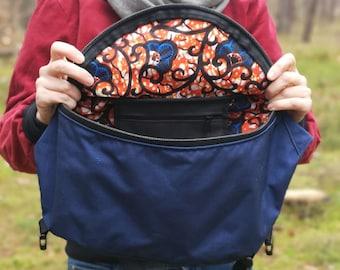 Big Hip Bag, fanny pack, waist bag, kidney bag, bum bag, waterproof bag, vegan bag, messenger bag