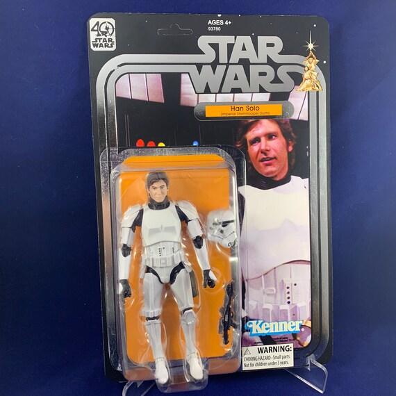 """Star Wars Black Series Han Solo Carbonite #19 3.75/"""" Figure  Damaged Packaging B"""