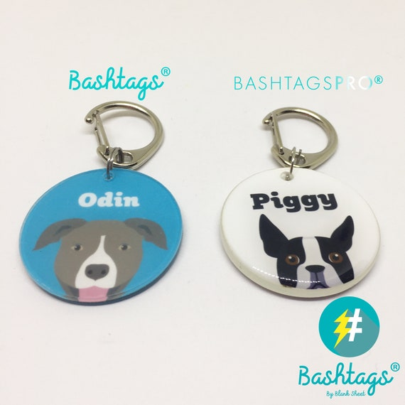 Bichon Frise Double Sided Dog Tag