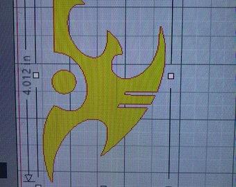 Starcraft Race Emblems Protoss, Zerg & Terran Vinyl Decals