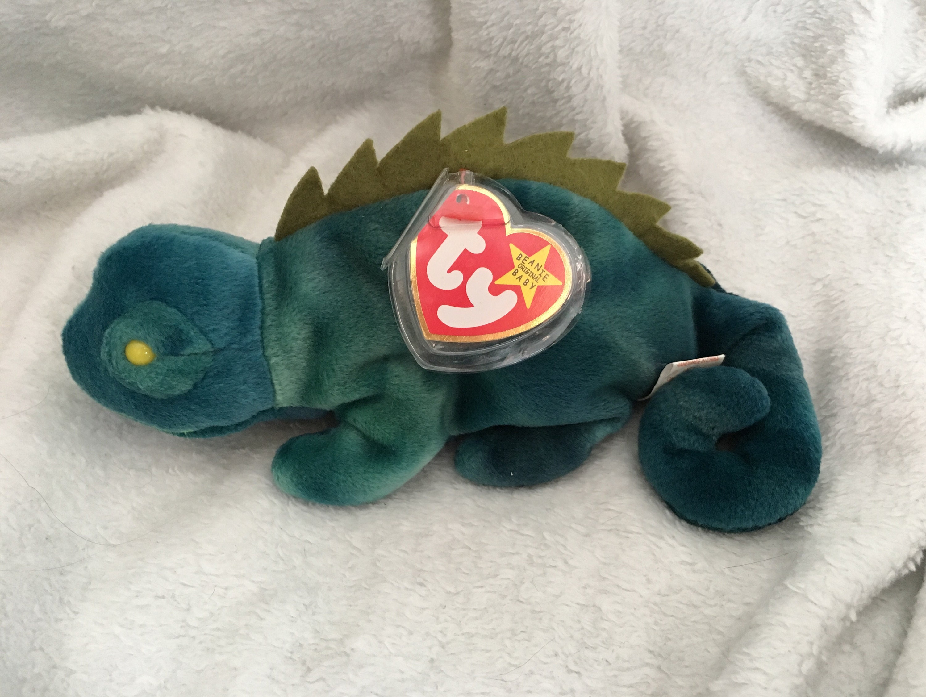 af431a40ed8 Iggy Beanie Baby MINT CONDITION Collector s Item 60%