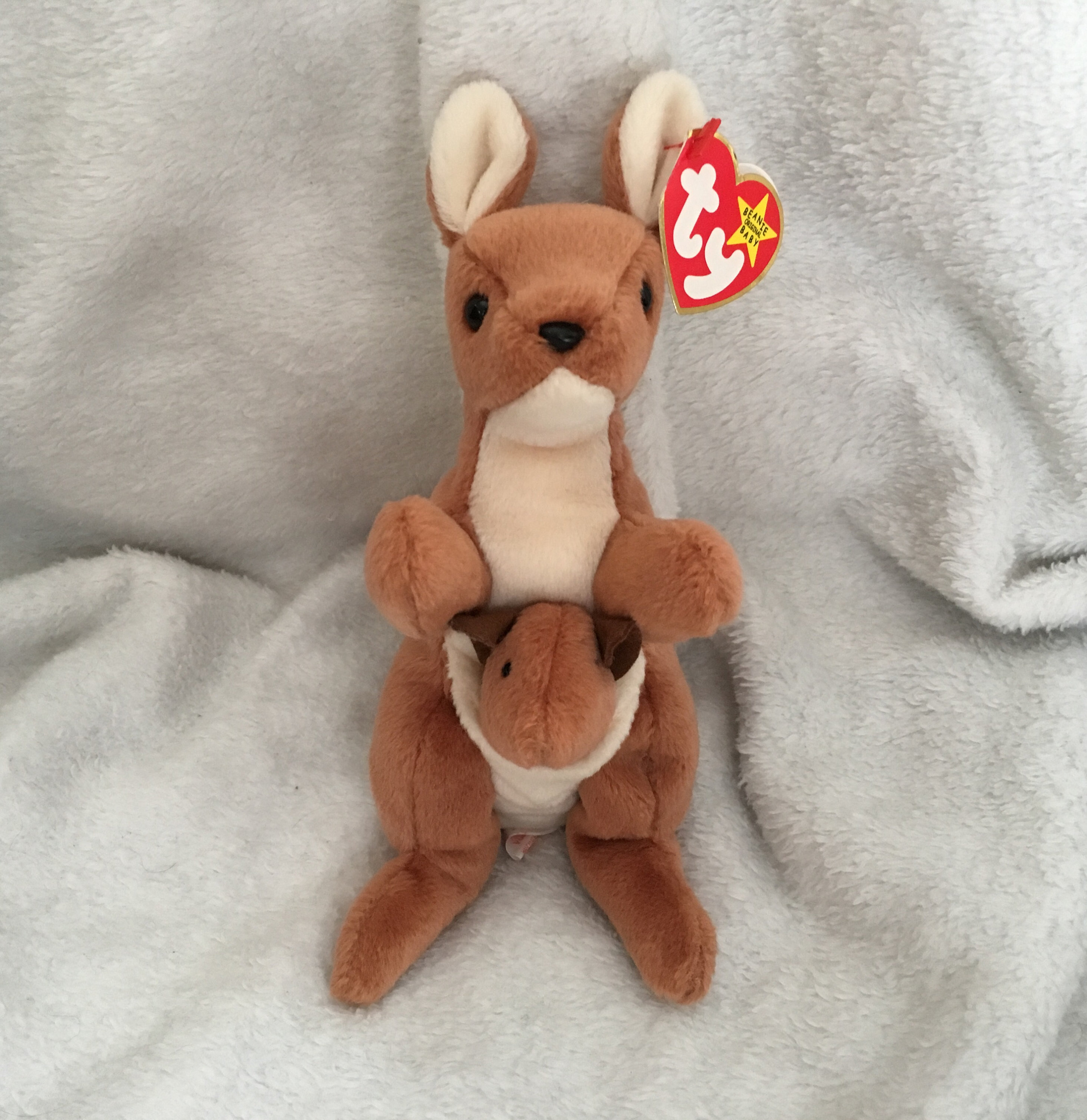 495b9878a96 Pouch Beanie Baby MINT CONDITION Collector s Item 60%