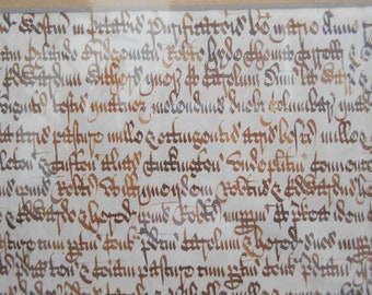 Medieval script | Etsy