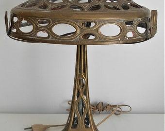 Collectibles Antique Art Nouveau Table Desk Lamp Early 1900s Lamps, Lighting