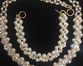 Unique high class necklace and barcelet