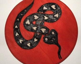 Snake woodburn