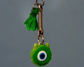 key chain small Monster Green