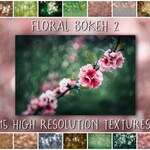 Bokeh Overlays and Textures for Photoshop - The Floral Bokeh 2 Collection of digital overlays for creative photographers