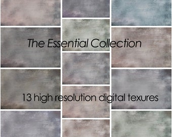 Digital Texture Collection for Photographers, Set of High Resolution Fine Art Texture Overlays