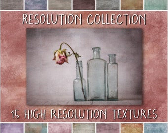 Fine Art Textures for Photoshop, Resolution Collection - grunge overlays for photography and scrapbooking