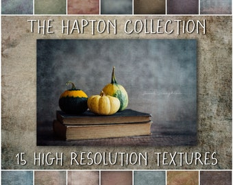 Photoshop Texture Overlays for Photographers - The Hapton Collection