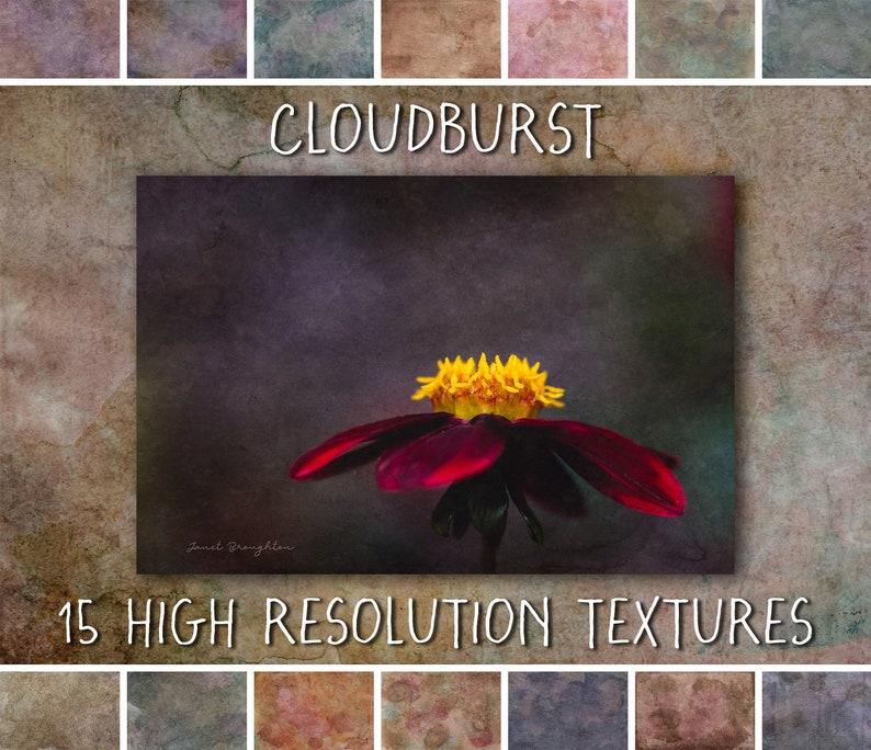 Fine Art Photoshop Textures Cloudburst Collection  fine art image 0