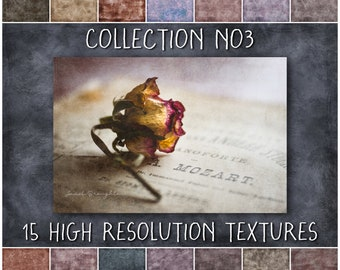 Digital Texture Overlays for Photoshop, Painterly Grunge Textures for Photographers and Digital Artists