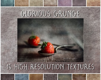 Fine Art Grunge Textures for Photoshop, Glorious Grunge digital texture collection for photographers