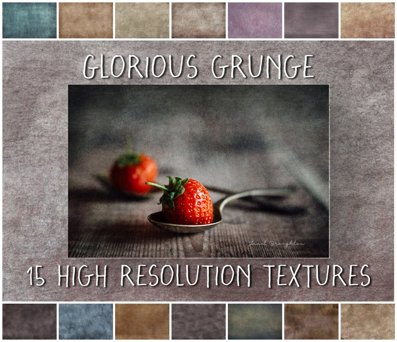 Fine Art Grunge Textures for Photoshop Glorious Grunge image 0