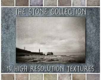Photoshop Grunge Textures for Photographers - The Stone Collection