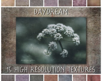 Photoshop Texture Overlays, Daydream Collection - fine art grunge textures for photography and digital art