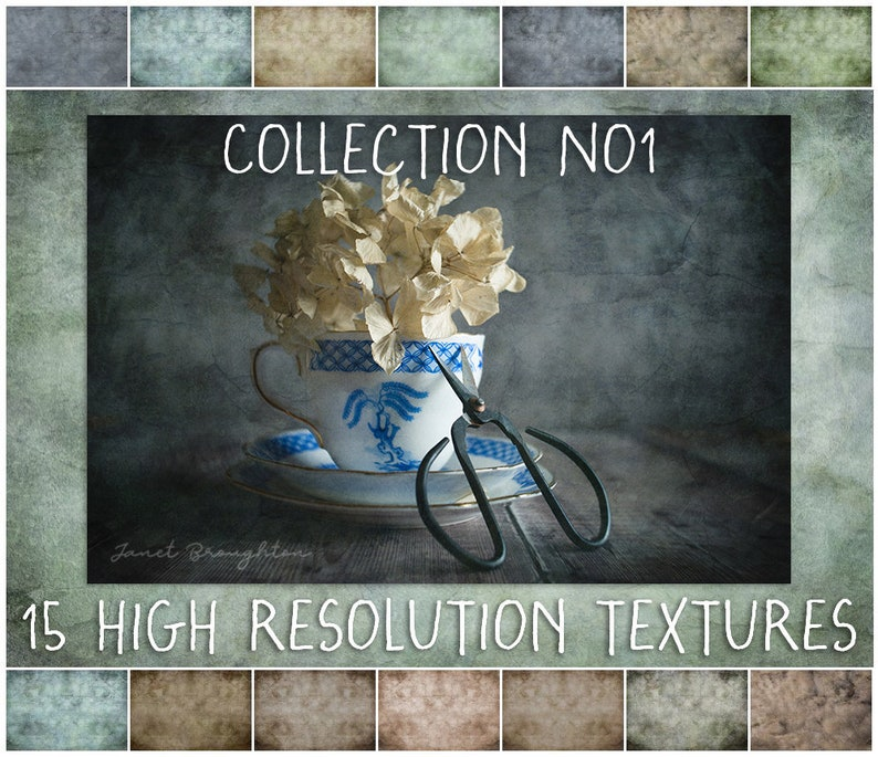 Fine Art Digital Texture Overlays for Photographers image 0