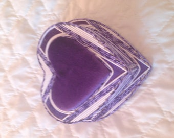 Dark Violet Jewelry Box