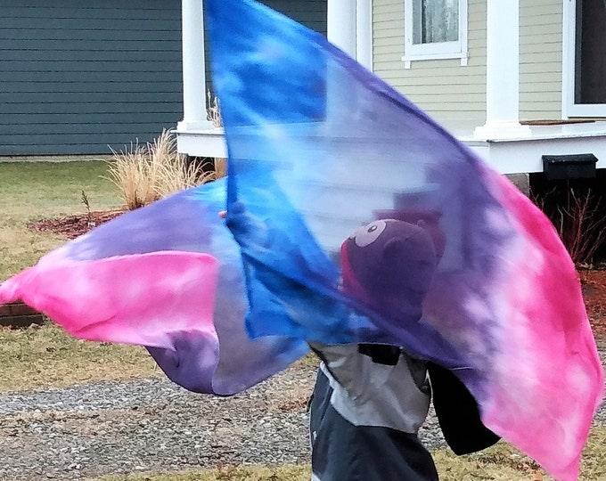 Worship Flags, Dance Flags, Praise Flags, Rectangular Flags, Flex Poles - Singing Over Me