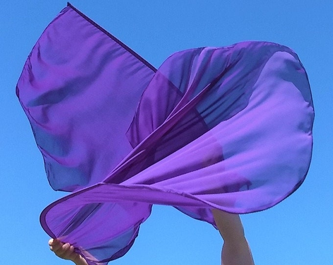 READY TO SHIP - Worship Flags, Dance Flags, Praise Flags, Angel Wings - King of Kings