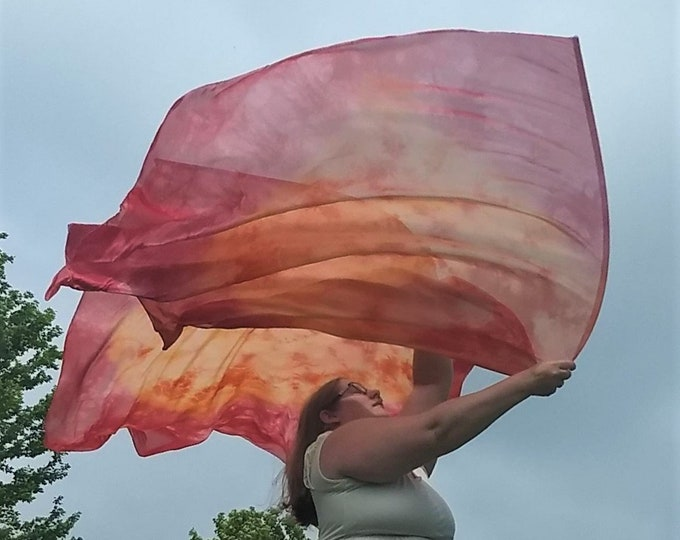 Worship Flags, Dance Flags, Praise Flags, Angel Wings, Swing Flags, Flex Poles - Fire on the Altar