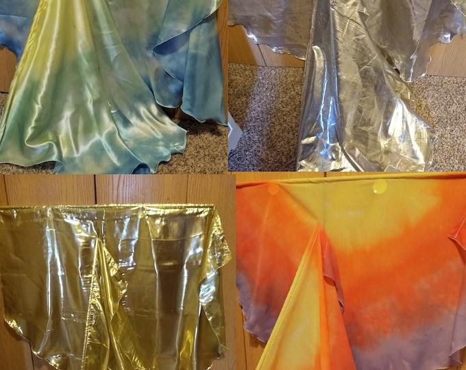 Worship Flags, Dance Flags, Praise Flags, Angel Wings, 4 Worship Flag Sets (8 flags) - Starter Bundle