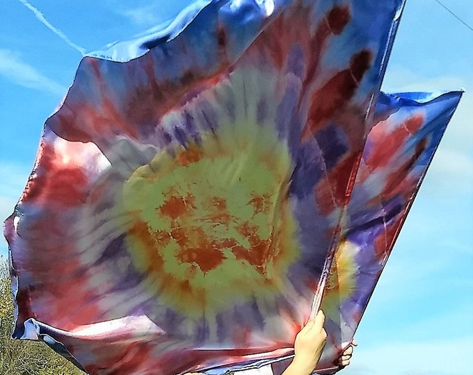 Worship Flags, Dance Flags, Praise Flags, Angel Wings, Hand Dyed - Gracefully Broken