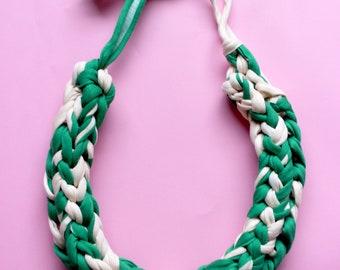 Chunky Knit Necklace