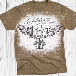 Files for Cricut summer Silhouette cactus thunderbird hand drawn Sublimate, desert boho explore more eagle Wild Soul Svg Dxf PNG