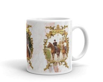 Custom Horse Mug, Custom Equestrian Mug, Gift For Horse Lover, Gift for Horse Owner, Memory Gift, Custom Photo Mug, Personalised Horse Mug