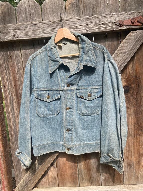 Vintage 70s Lee Harley Davidson Denim Jacket - image 5