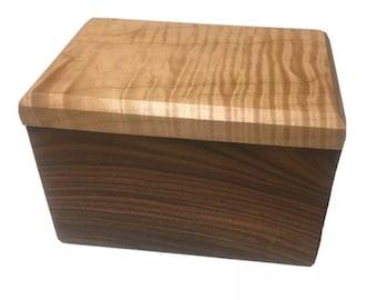 Box made in Morado Bolivian Rosewood Pau Ferro trinket keepsake jewelry pen pencil ornamental fine woodwork treasure