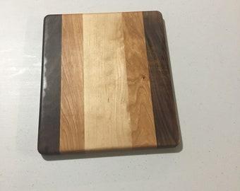 Handmade Cheese Board - Cherry - Maple - Walnut