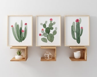Cactus Nursery Print, Girl Nursery Decor, Nursery Wall Art, Girl Nursery Print, Boho Nursery Print, Boho Art Print, Cactus Wall Art
