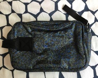 Onitsuka Tiger bleu/kaki Beauty Bag