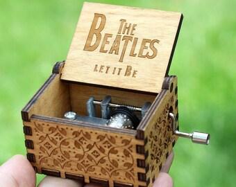 The Beatles Music Box | Unique Carved Music Box | beatles lyrics | the beatles gift | beatles lyrics | beatles | beatles memorabilia