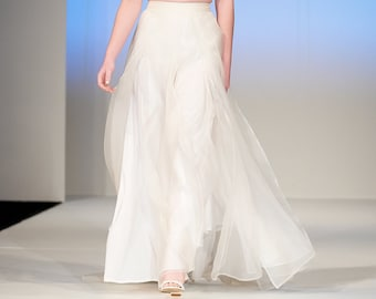 Couture Silk Organza Bridal Skirt