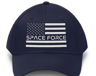 Space Force Funny Ball Cap - Cute American Flag Baseball Cap Dad Hat Black  Navy Blue Unisex Adjustable Strap Back 3a825bfca10